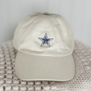 Cowboys Tan Ball Cap Hat
